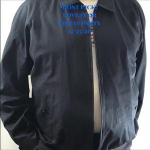 Authentic Burberry Spain Navy Men's Jacket XL